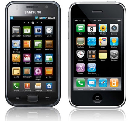 iPhone VS Samsung Galaxy S