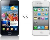 Samsung Galaxy S VERSUS Apple iPhone