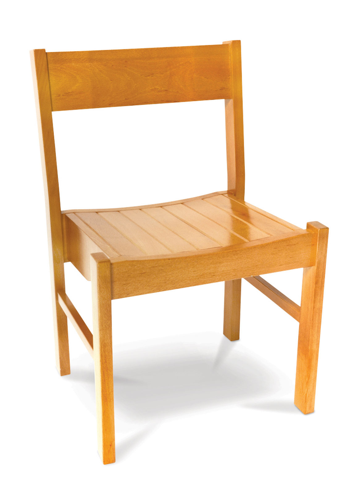 Wooden Church Chair THIS IS THE LAST ONE AT THIS PRICE