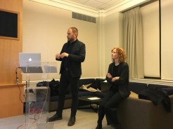 Presentation by Marie Law Adams and Dan Adams of Landing Studio