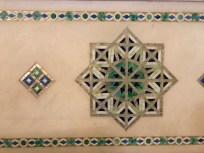 Tiles in the Frederick Ayer Mansion