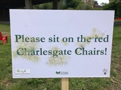 An Invitation to Sit in Chairs Donated by the Solomon Foundation for the Event