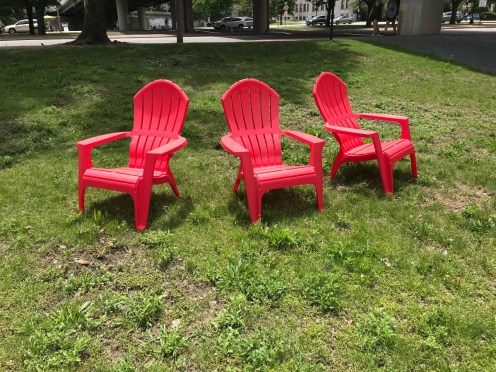 Chairs Donated by the Solomon Foundation for the Event