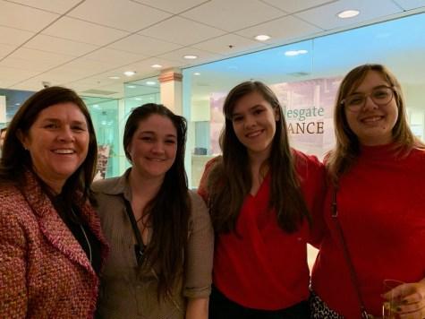 Deedra Bakish, Rachel Bakish, Friend and Shannon Carey