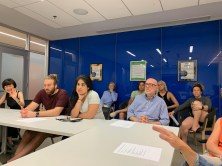Attendees at Dog Park Meeting, June 12, 2019