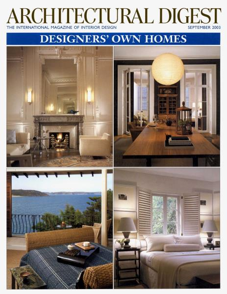 Charles Gruwell Design Sorrento Hotel Architectural Digest