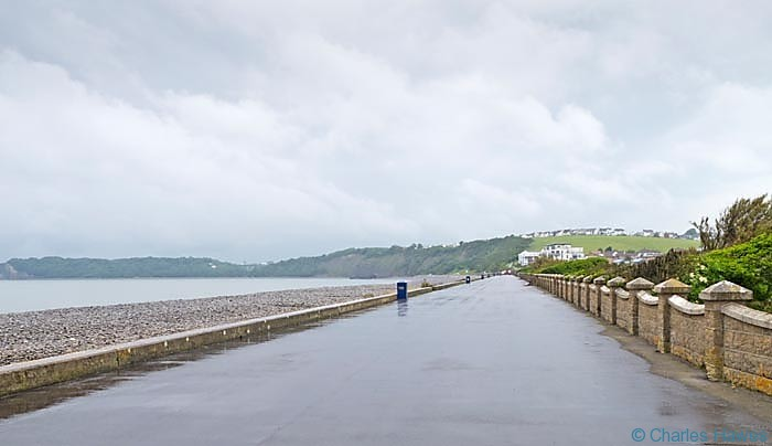 The Knap and beach near Barry on The Wales Coast Path photographed by Charles hawes. Walking in Wales.