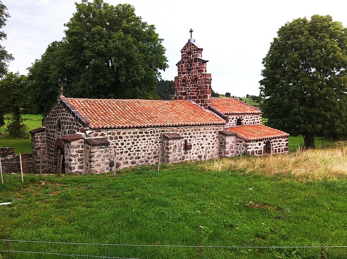 The chapel of St Roch on the way of St James in France. GR65. Route Saint Jacques. Photograph by Charles Hawes