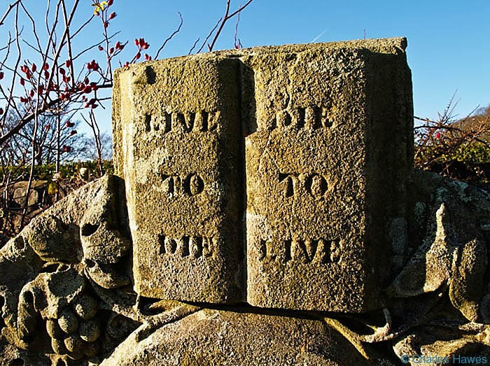 Gravestones in Blaenavon memorial park, photographed by Charles Hawes. Walking in Wales.
