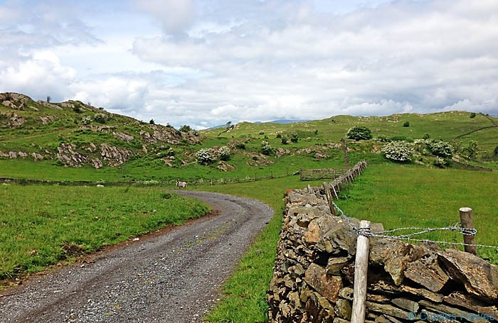 The Dales way near Hag End in Cumbria, photographed by Charles Hawes