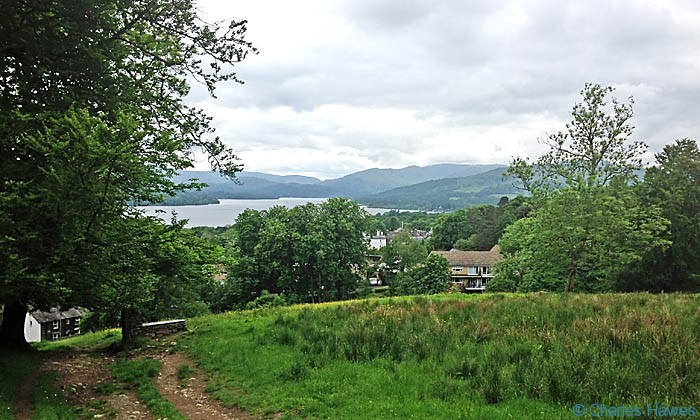 View over Windermere from The Dales Way in Cumbria, photographed by Charles Hawes