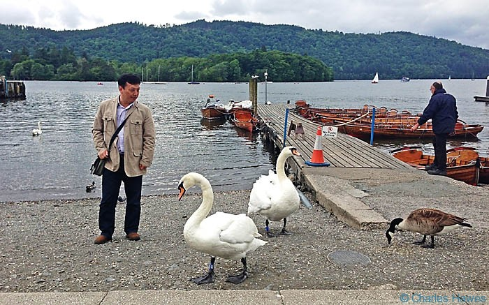 Lake Windermere in Cumbria, photographed by Charles Hawes