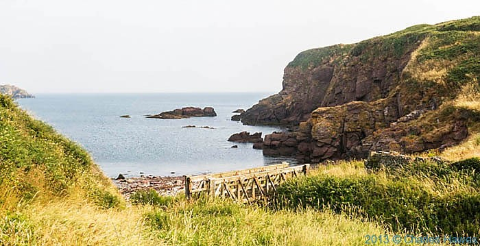 Mill Haven on The Wales Coast Path in Pembrokeshire, photographed by Charles Hawes