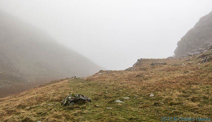 Walking above the Nantmor Mountain Centre, Snowdonia in November, photographed by Charles Hawes
