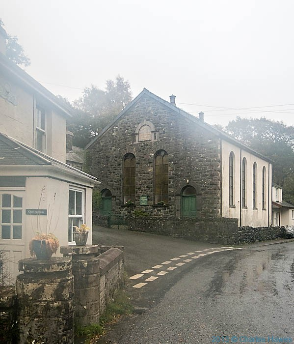 Chapel in Nantmor, Snowdonia, photographed by Charles Hawes