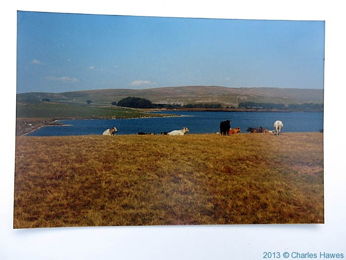 Malham tarn, photographed from the Pennine way in 1980 by Charles hawes