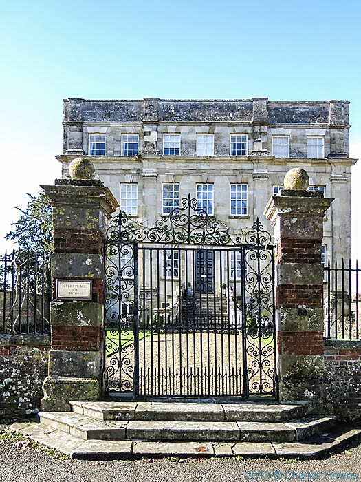 Myles Place, Salisbury, Wiltshire, photographed by Charles Hawes