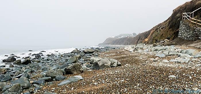 Beach at Llandanwg, Gwynedd, photographed by Charles Hawes