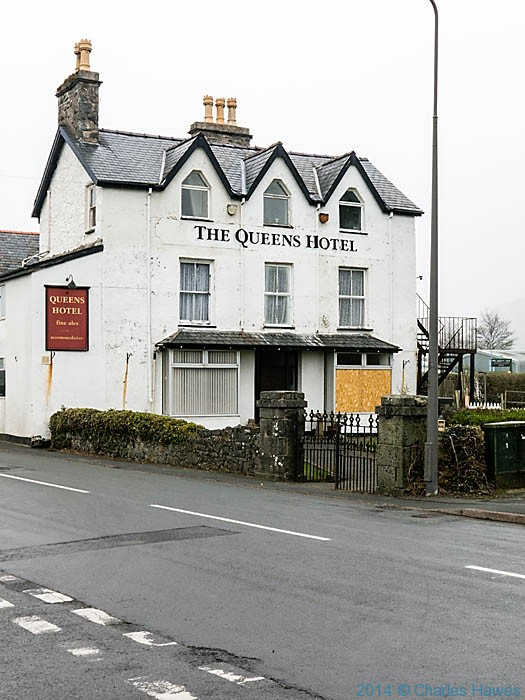 The Queens Hotel, Harlech, photographed by Charles Hawes