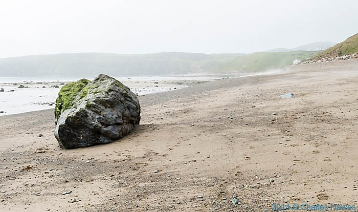 Aberdaron beach photographed by Charles Hawes