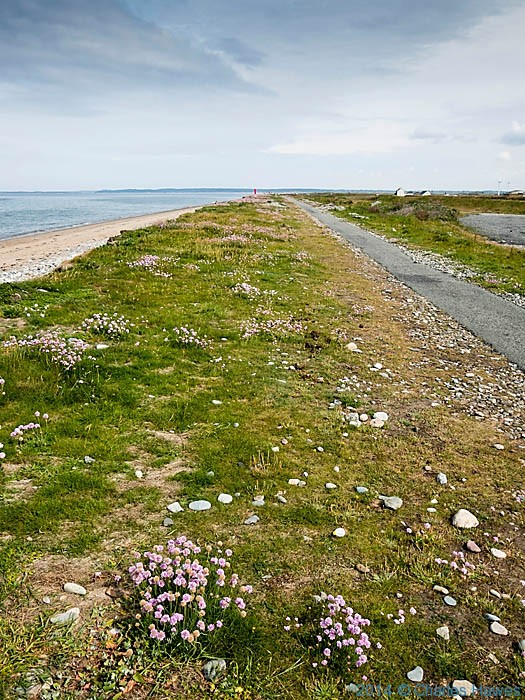 The Wales Coast Path at Dinas Dinlle, photographed by Charles Hawes