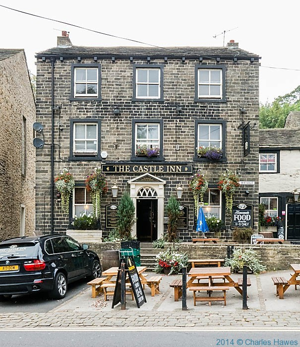 The Castle Inn in Skipton, photographed by Charles Hawes