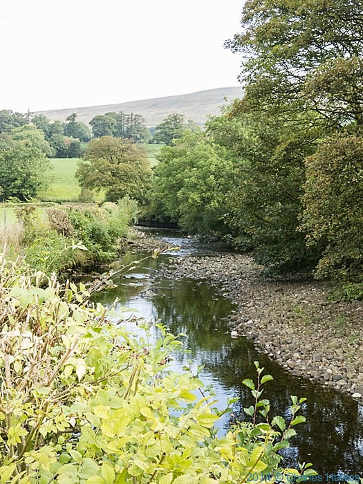 The River Dee at Barth Bridge, Cumbria, photographed from The Dales High Way by Charles Hawes