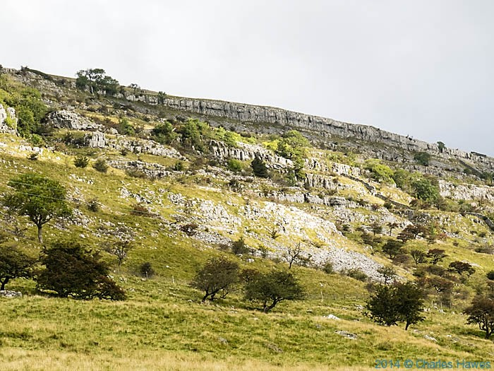 Twistleton Scar, near Ingleton, photographed by Charles Hawes