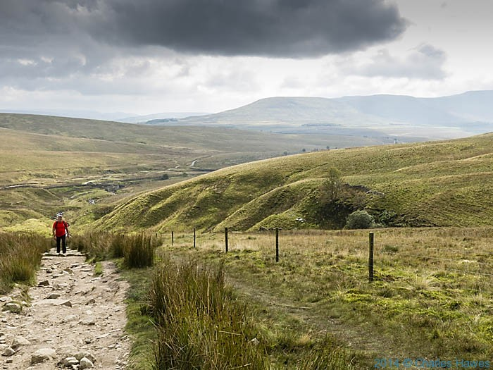 The Dales High Way near Whernside, photographed by Charles Hawes