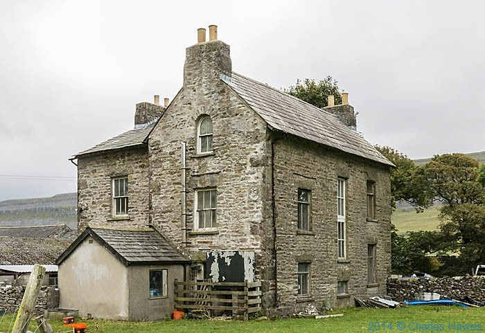 Breezey Farm near Ingleton, photographed by Charles Hawes