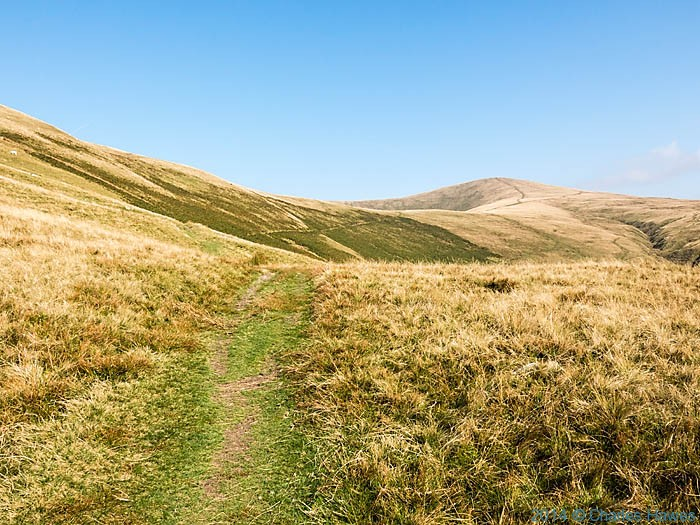 View to Calders on the Howgill Fells, in Cumbria photographed by Charles Hawes