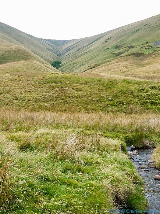 Hazel Gill  and Bowderdale Beck, Bowderdale, Howgill Fells, Cumbria, photographed by Charles Hawes