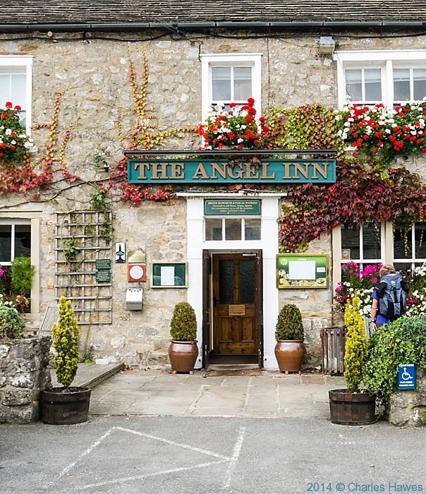The Angel Inn, Hetton, photographed by Charles Hawes