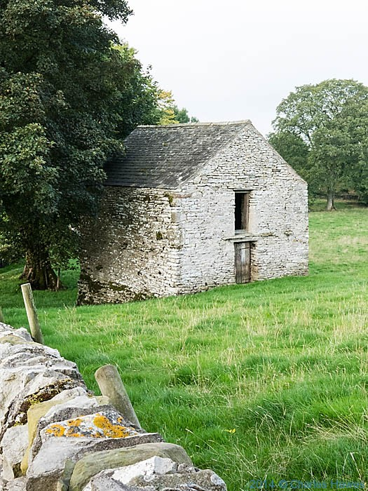 Barn near Newbigin-on-Lune, Cumbria,photographed by Charles Hawes