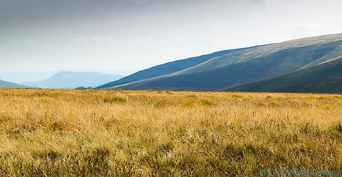 The Black Mountains near Blaen Grwyne fawr, photographed by Charles Hawes