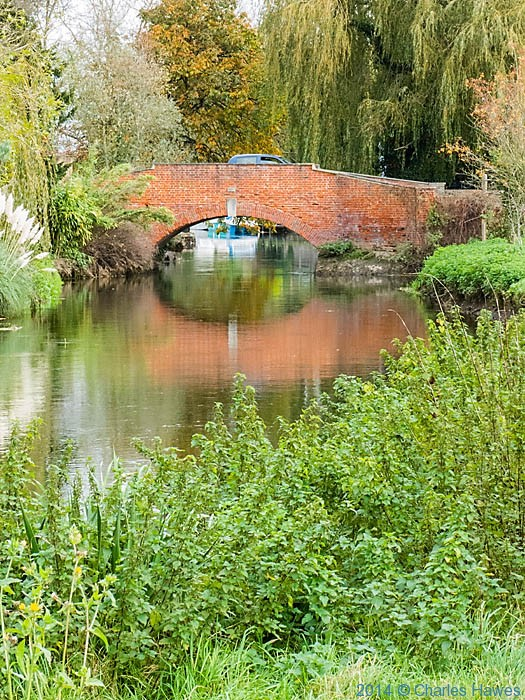Bridge at Fordwich, photographed by Charles Hawes