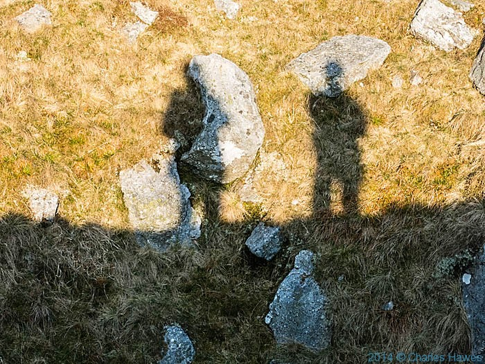 Shadows in the Brecon Beacons National Park photographed by Charles Hawes