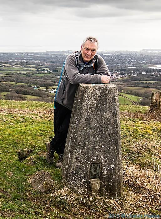 trig point at Craig llsfaen, photograhed by Neil Smurthwaite