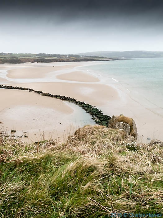 Traeth Lligwy, Anglesey, photographed from The Wales Coast Path by Charles Hawes
