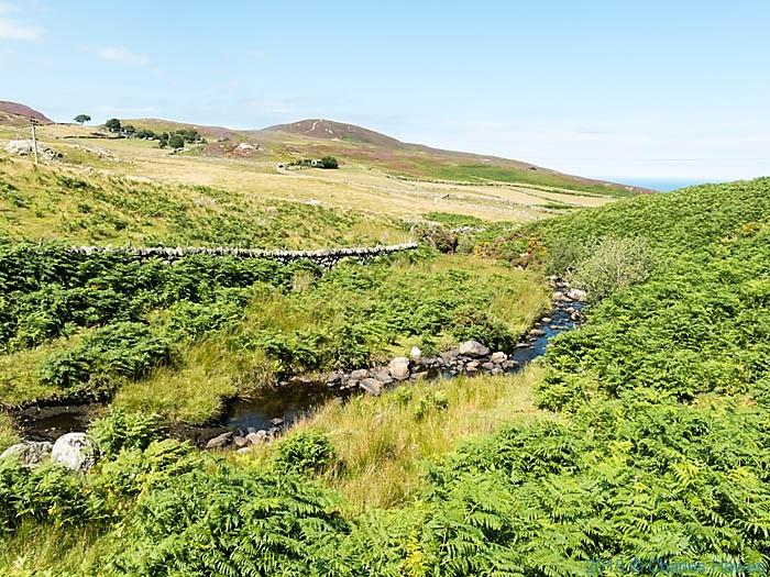 Afon Gyrach, near Penmaenmawr, photographed by Charles Hawes