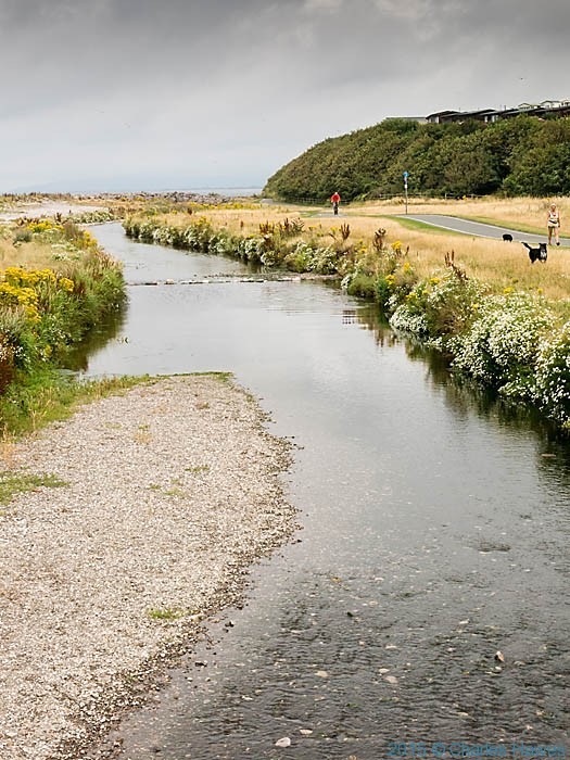 Afon Dulas, photographed from The Wales Coast Path by Charles Hawes