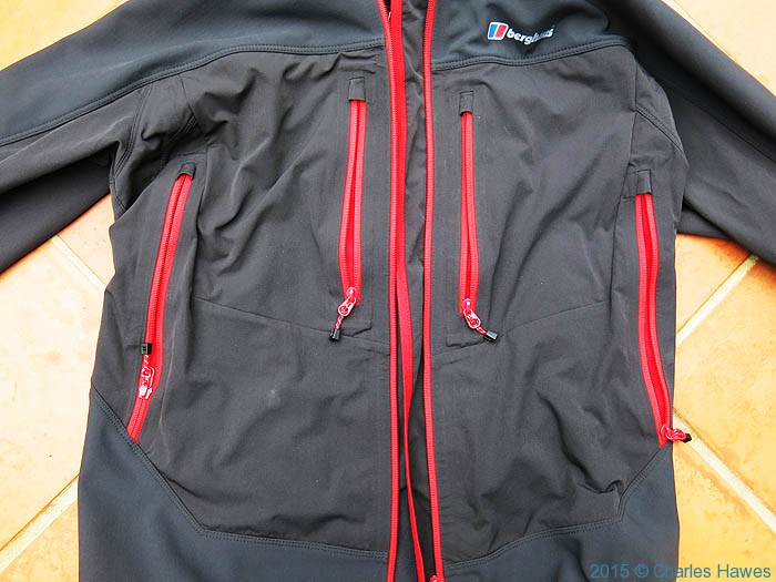Berghaus Jorasses softshell, photographed by Charles Hawes