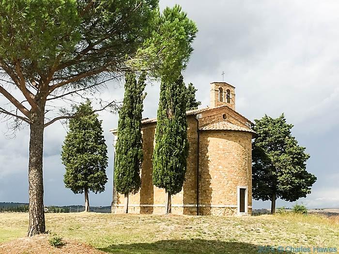 Vitaleta near Pienza, photographed by Charles Hawes