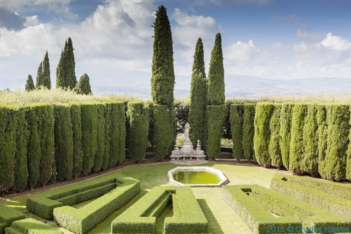 La Foce garden, Tuscany, photohgraphed by Charles Hawes
