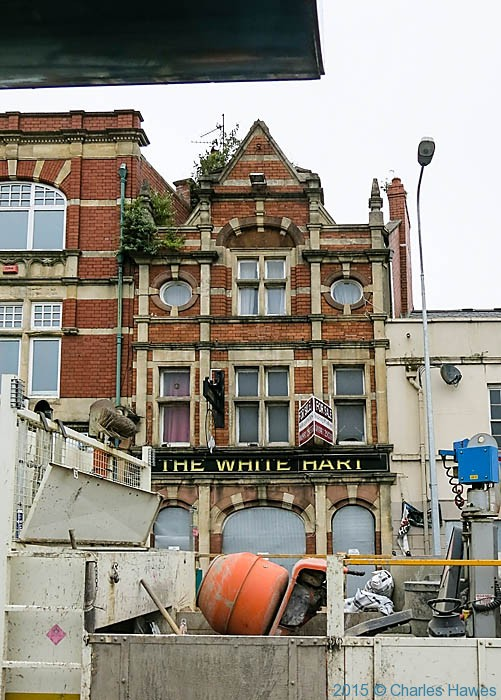 The White Hart, Cardiff, photographed from The Cambrian Way by Charles Hawes