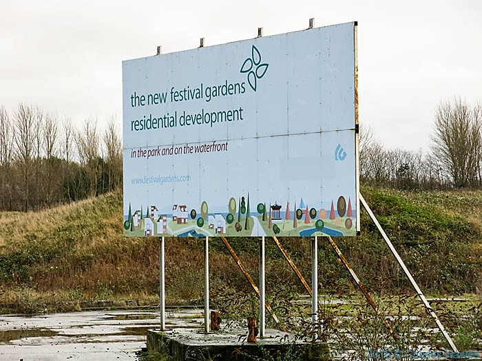 Liverpool International gardens festaval site, photographed by Charles Hawes