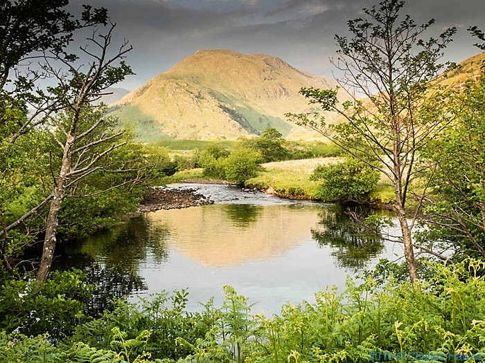 The Inverie River on Knoydart, photographed by Charles Hawes