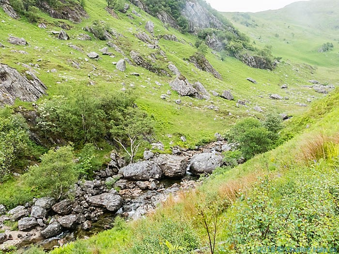 Aalt Gleann Medail , Knoydart, Scotland, photographed by Charles Hawes