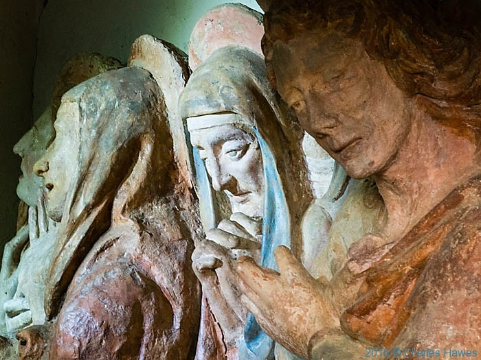 Detail of The Passion of Jesus in La Gerusalemme , San Vivaldo, Tuscany, photographed by Charles Hawes