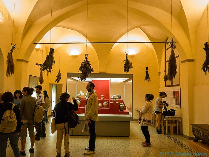 La Speziaria di Santa Fina, San Gimignano, Tuscany, photographed by Charles Hawes